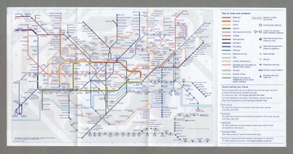 December 2018 Edition 3x TFL London Underground Tube Map